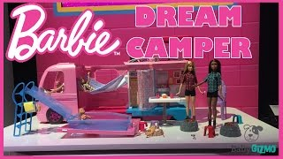 BARBIE DREAM CAMPER! NEW DOLL VEHICLE FROM TOY FAIR!