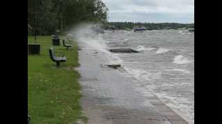Alberta Beach crashing waves...