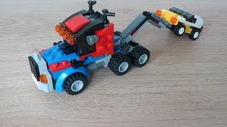 LEGO 31033 LEGO CREATOR 3 IN 1 2015 Vehicle Transporter Tow Truck (3/3)