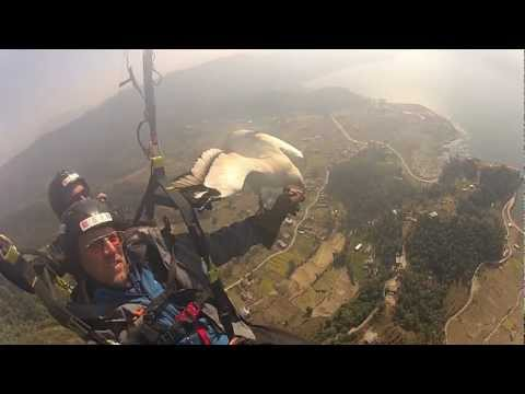 Perceptive Travel — parahawking + GoPro in Nepal