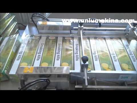 Tobacco Box Overwrapping - Nargile Tütün Ambalaj