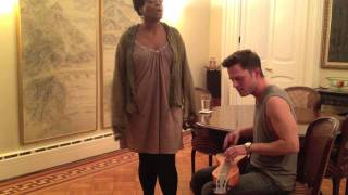 Moby - Natural Blues (Cover by Eli Lieb with special guest Inyang Bassey)