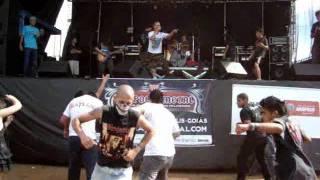Refens do proprio destino  - La Tormenta - Live In Anapolis Metal