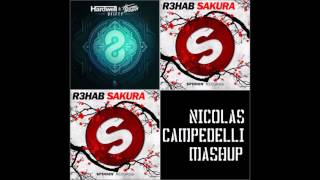8Fifty Vs Sakura - Hardwell & Thomas Newson Vs R3hab (Nicolas Campedelli Mashup)