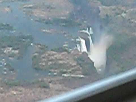 ビクトリアの滝ヘリ遊覧