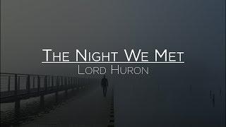 Lord Huron - The Night We Met (Letra en Español)
