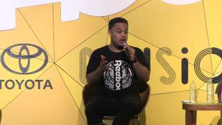 """""""You have to have amnesia as an artist"""" - Anthony Saleh (Freebandz) at A3C Conference"""