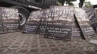 AC/DC Rock or Bust Tour - Load-in Day: Hamburg