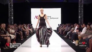 Brittney Castillo @ Art Hearts Fashion LA / The Art Institute of California - Hollywood
