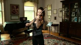 Hilary Hahn Plays Sarabande in D Minor by Bach