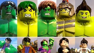 LEGO Marvel Hulk Transformations in LEGO Marvel PC Games