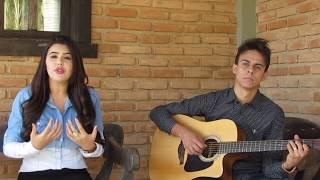 Tainara e Diuliano-Teu Redentor Violão e voz