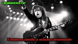 AC/DC- Rock The Blues Away- (Subtitulado en Español)