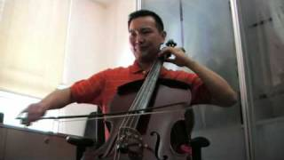 Grandfather's theme - from Peter and the Wolf by Prokofieff (Prokofiev) - on Cello