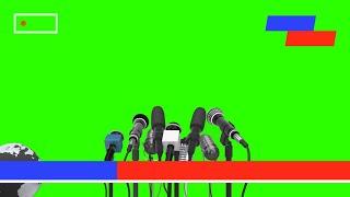 Layout de Jornal #1 - News Layout #1 [Fundo Verde - Green Screen]