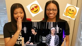 William Singe & Alex Aiono Fake Love, Broccoli & Caroline Mashup| Reaction