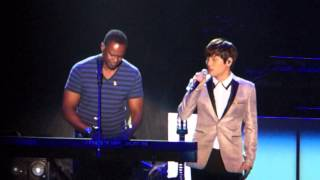20140511 Brian Mcknight & K Will - Home ( Seoul concert )