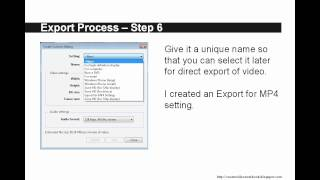 Windows Live Movie Maker 2011 - How to Save for Export PITA Version