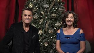 Amy Grant & Michael W. Smith Bloopers: Christmas Promo 2017