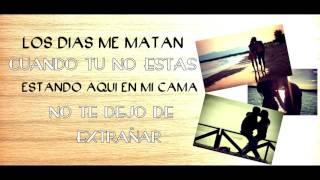 Cuando tu no estás - Nyl ft. J Ose (Lyric Video)HD
