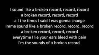 Jason Derulo - Broken Record  w/lyrics
