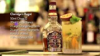 Chivas Whisky Cocktail by Claridges' Oliver Blackburn