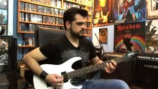 Saxon - 747 (guitar cover)
