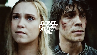 Bellamy & Clarke | Don't Forget About Me [+4x01]