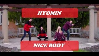 【♛HimeProject & Friends♛】Hyomin (T-Ara)- Nice Body Dance Cover