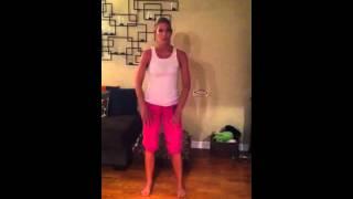 Love shack dance tutorial part 1
