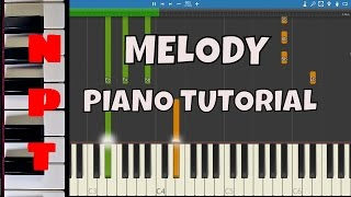 Dimitri Vegas, Like Mike & Steve Aoki vs Ummet Ozcan - Melody - Piano Tutorial