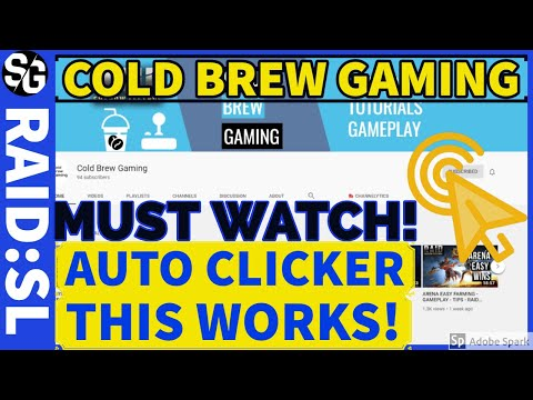 RAID SHADOW LEGENDS | COLD BREW GAMING | PC AUTO CLICKER