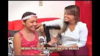 Menina de 11 anos que precisa de receber doação de medula  faz apelo emcionante
