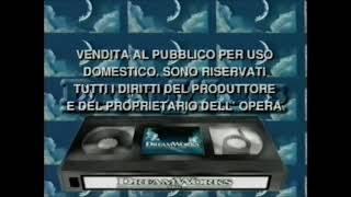 Printdate Screen and Dreamworks RARE Italian Screen 7/9/18