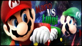 Mario vs Luigi! Superstar Rap Battles of Epicness!