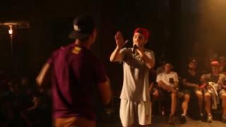 HANDER VS ZASKO. ¿hablas de follarte a mi ex?.... respuesta de batalla de rap THE RHYME ALMERÍA 2016