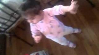 Rakata Baby Jadey Dancing