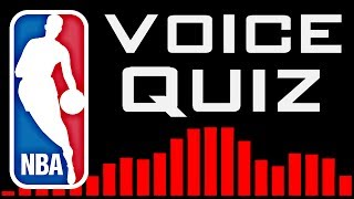 NBA Player's Voice Quiz - 10 Second Challenge