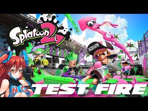 WTFF::: Niche Gamer Plays - Splatoon 2 Global Testfire