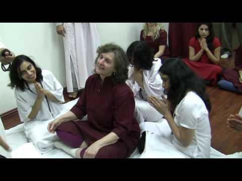 Osho Meditation retreat with Swami Anand Arun in Zorba Studio 12-14 Feb 2010 Day 2 – Sannyas