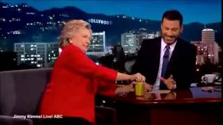 Hillary Farts On Live TV