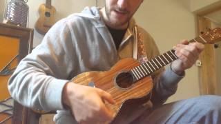 3 min advanced ukulele drum/flamenco style strumming lesson