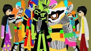 Pivot Kamen rider Ex-aid,Snipe,Brave,Razer,Genm? Vs Para-dx part 2
