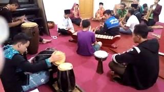 Latihan Kararwitan di ponpes tanjung salam,. persiapan rajab waaa,!! (djiharkah)