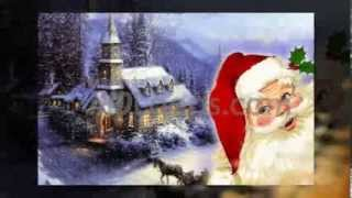 Christmas Video Background Santa Gift