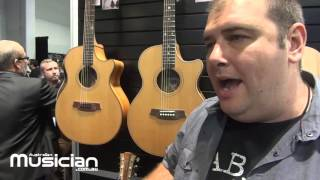 NAMM 2016: LLOYD SPIEGEL TALKS COLE CLARK GUITARS