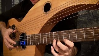 My Heart Will Go On - Titanic Theme - Harp Guitar Cover - Jamie Dupuis