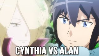 ☆Cynthia/Shirona VS Alan (Garchomp vs Mega Charizard X)☆