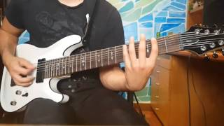 Shadow Moses-Bring Me The Horizon guitar cover by Simone Prudenzi (ZENIT)