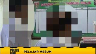 Alamak!! Pelajar SMA Kepergok Mesum Di Mobil   Police Line 28/07